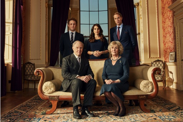 Harry, Kate, William, Charles and Camilla in the drama (BBC/Drama Republic)