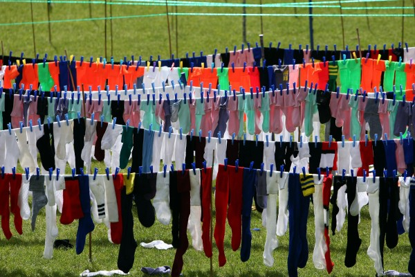 socks (David Jones/PA)
