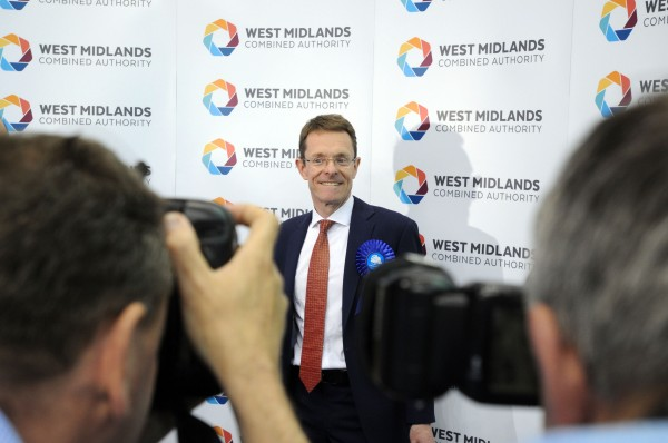 Former John Lewis boss Andy Street, who is the new West Midlands Mayor (Matthew Cooper/PA)