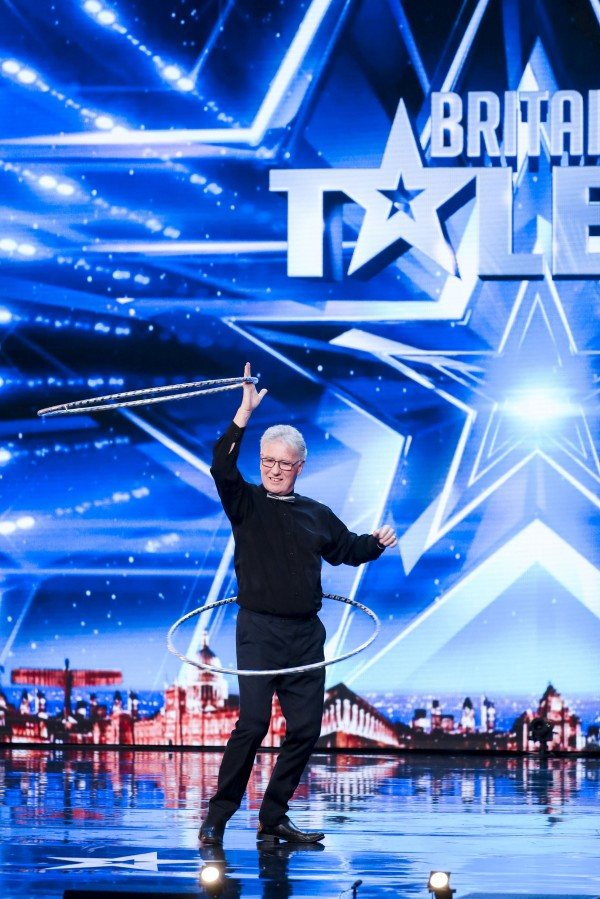 ITV undated handout photo of John Parnell during the audition stage for ITV1's talent show, Britain's Got Talent.