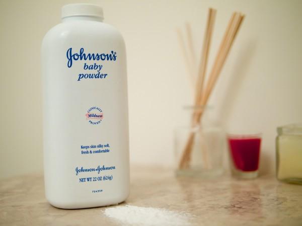 Talcum powder.