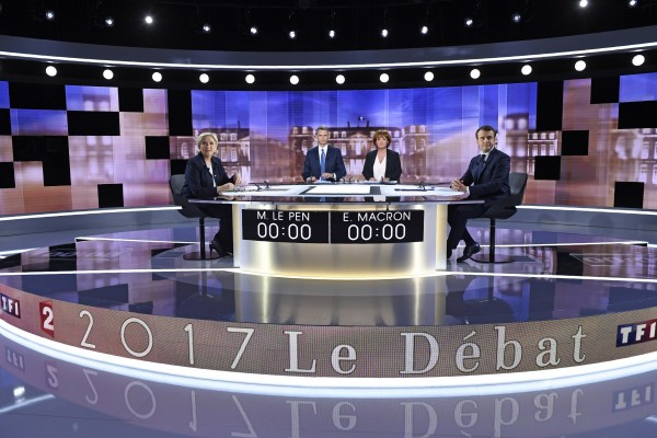 French election debate