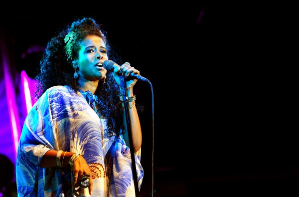 Kelis performs at the Summer Series at Somerset House, London.