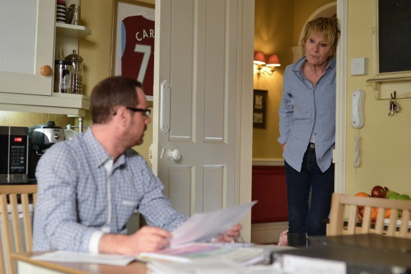 EastEnders Mick and Shirley Carter