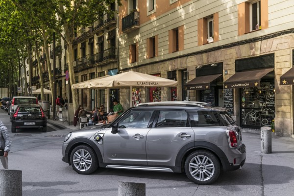 The hybrid Countryman is well suited to the urban areas