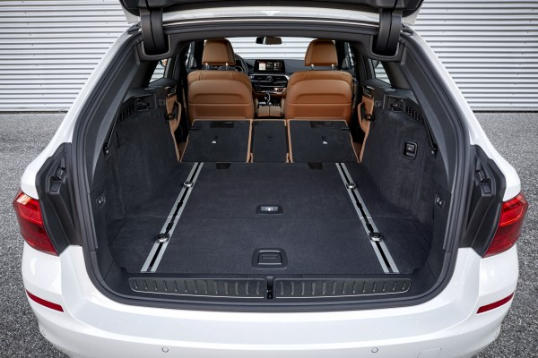 The 5 Series Touring's boot is impressively large