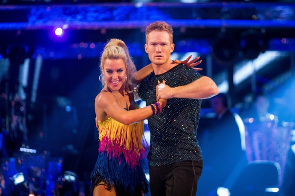 Natalie and Greg in last year's Strictly.