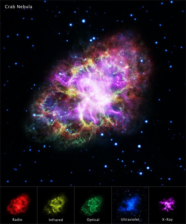 New composite image reveals mysteries of Crab Nebula