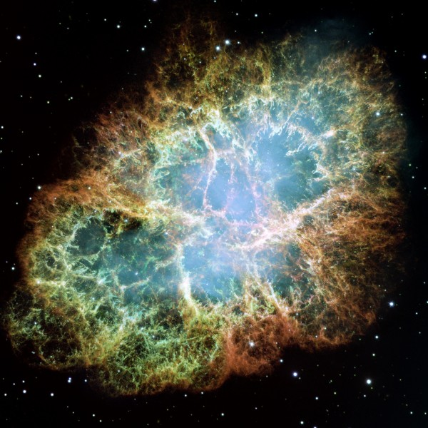 See the Crab Nebula from 5 different observatories