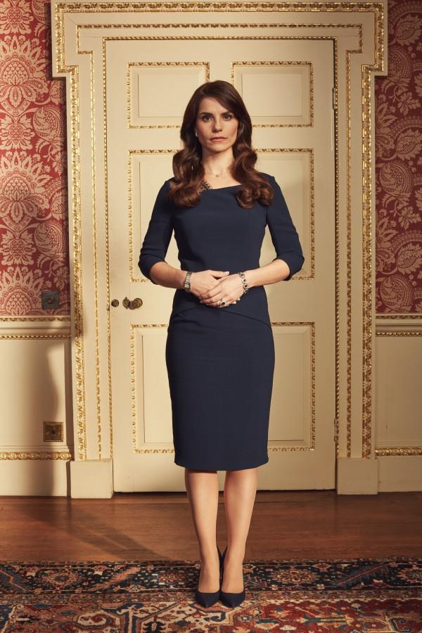 Kate Middleton portrayed by Charlotte Riley (BBC/Drama Republic)