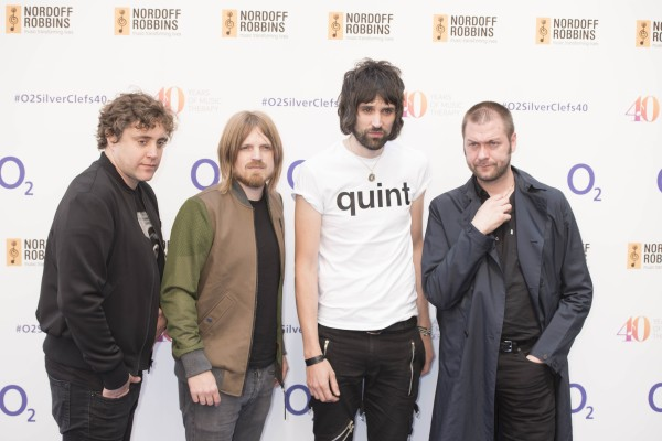 Kasabian make it five number one albums in a row BT