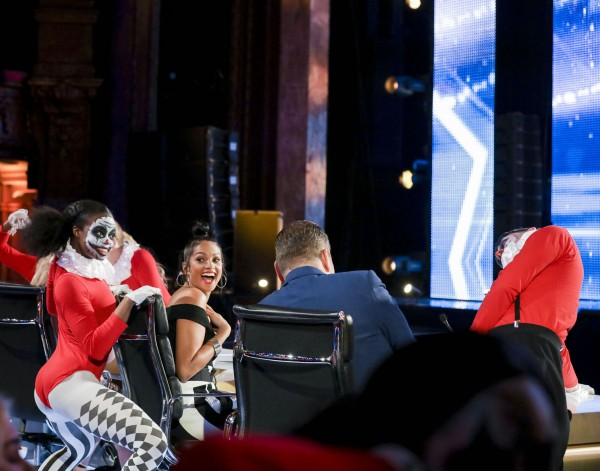 The Next Generation creep up on the judges.