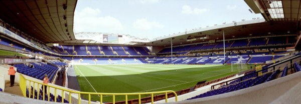The developed White Hart lane
