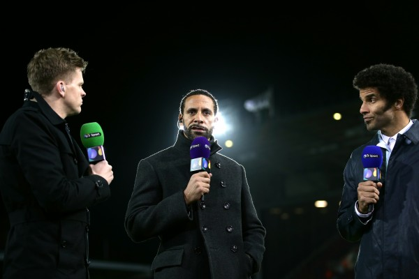 Rio Ferdinand chats on BT Sport