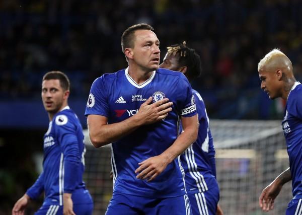 Terry celebrates