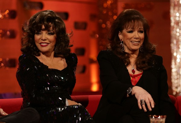 Joan Collins Jackie Collins auction