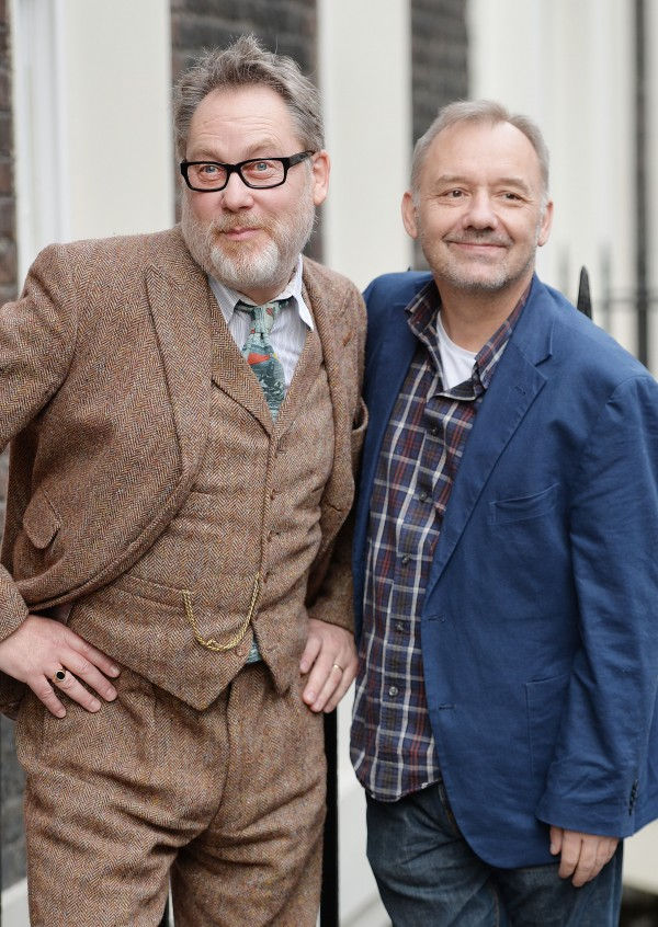 Vic Reeves (left) and Bob Mortimer (John Stillwell/PA)