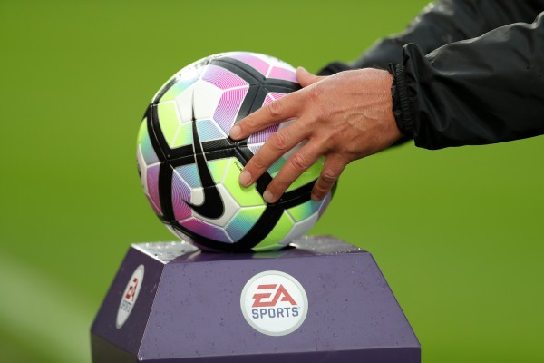 A Premier League football
