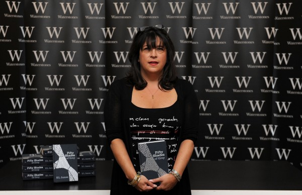 Fifty Shades of Grey author E L James.