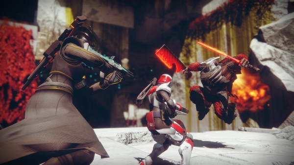 gameplay from destiny 2