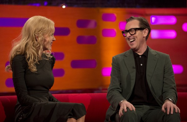 Nicole Kidman and Alan Cumming on The Graham Norton Show  (Isabel Infantes/PA)