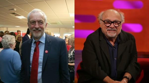 corbyn and devito