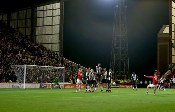 Barnsley v Newcastle