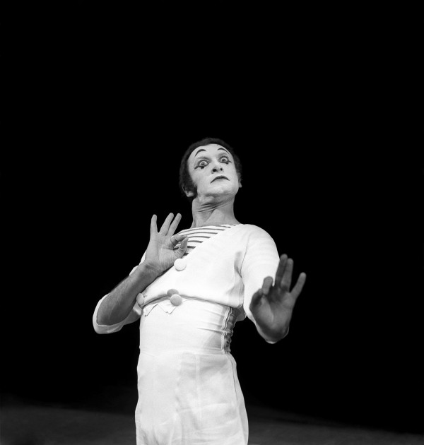 Marcel Marceau, 1962.