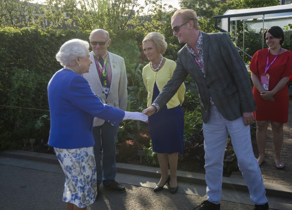 Chris Evans met the Queen ( Julian Simmonds/The Daily Telegr/PA Wire/PA Images)