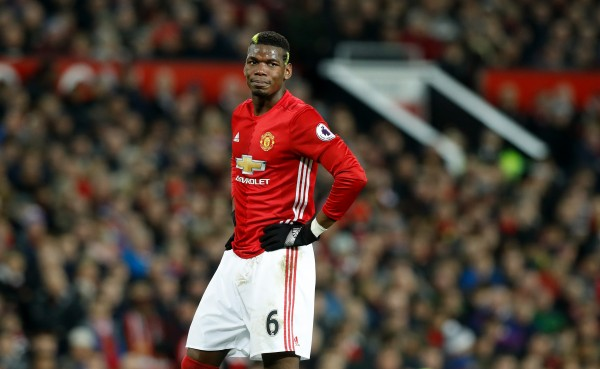 Manchester United midfielder Paul Pogba