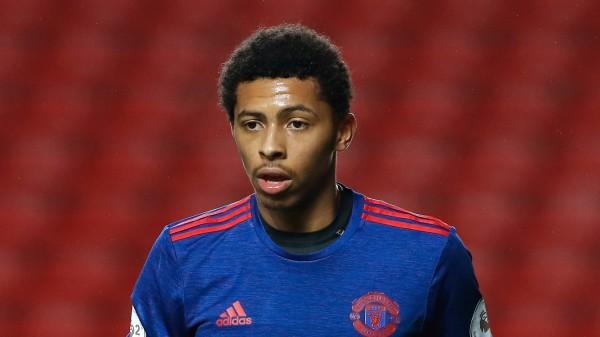 Manchester United's Devonte Redmond