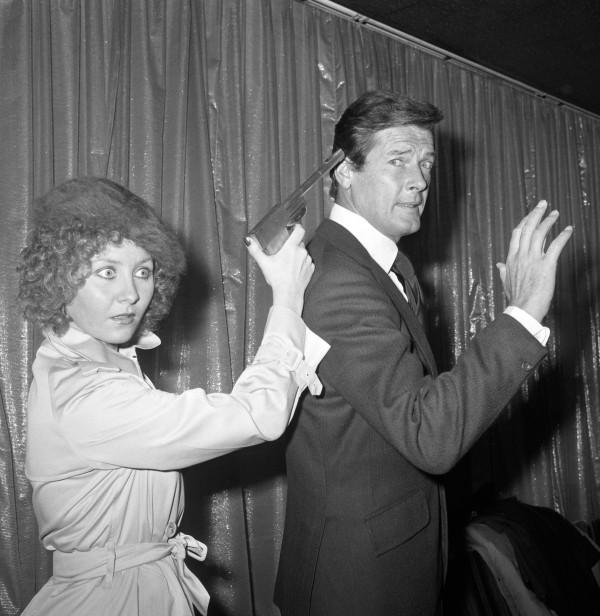 Lulu and Sir Roger Moore