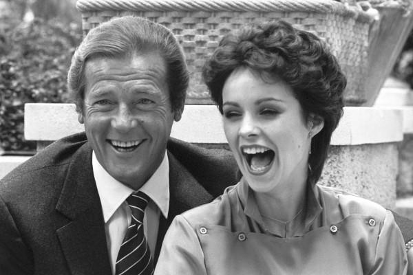 Sir Roger Moore and Sheena Easton