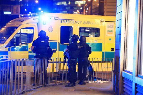 Ambulance in Manchester