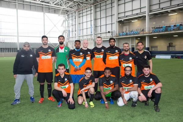 The Deaf Rhinos football team