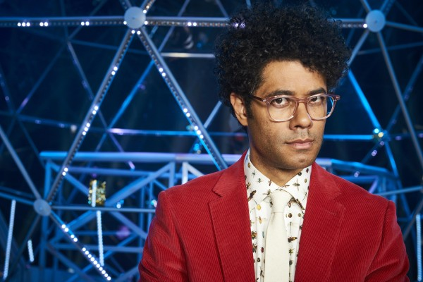 First look at Richard Ayoade hosting The Crystal Maze on Channel 4