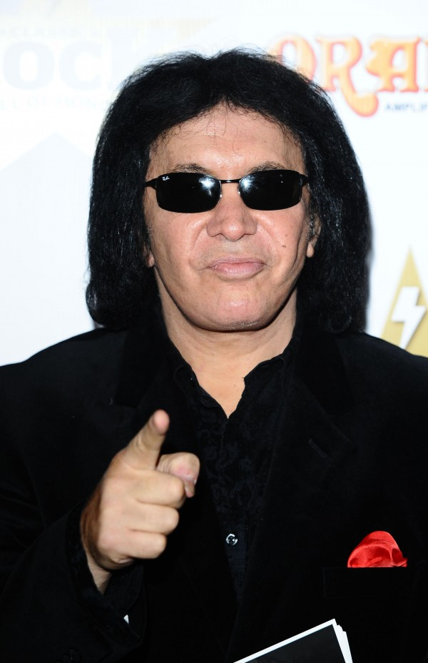 Kiss star Gene Simmons