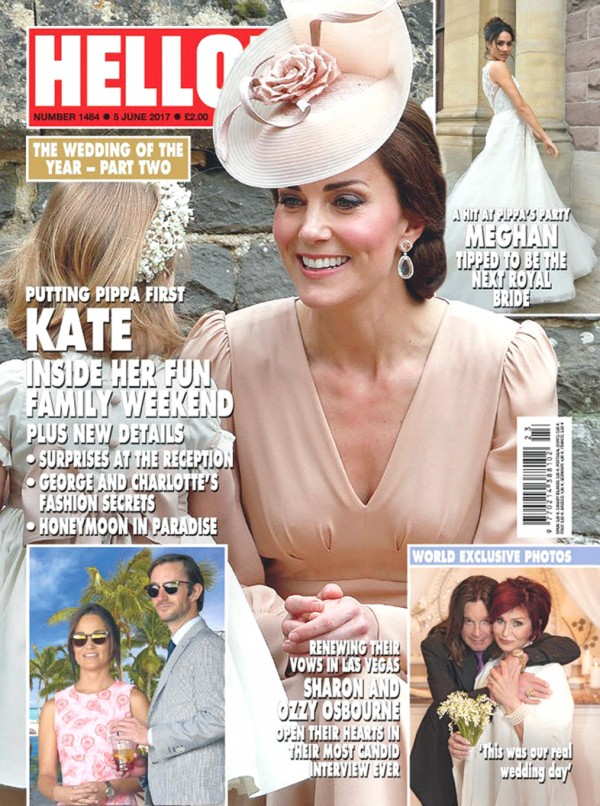 The front cover of the latest Hello! magazine