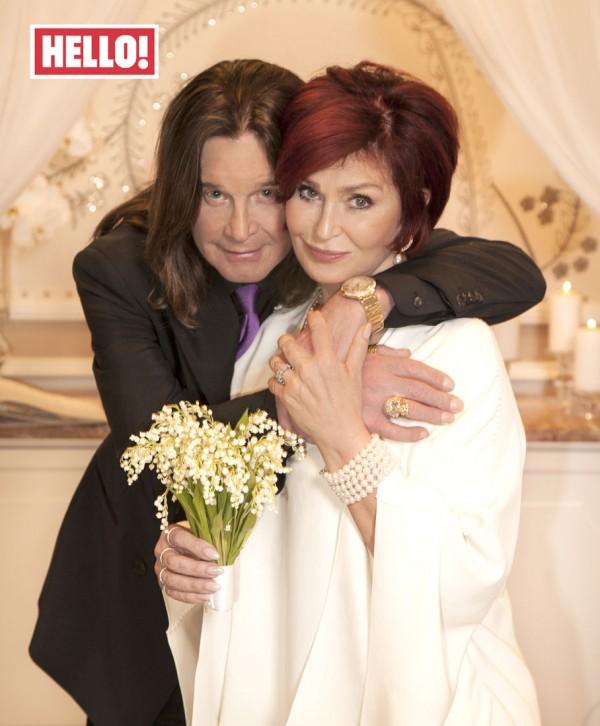 Sharon and Ozzy Osbourne renewed their wedding vows