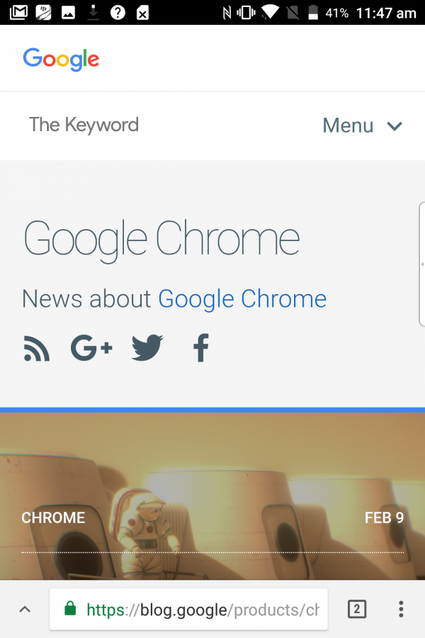Google is testing a redesign of its Chrome web browser ...