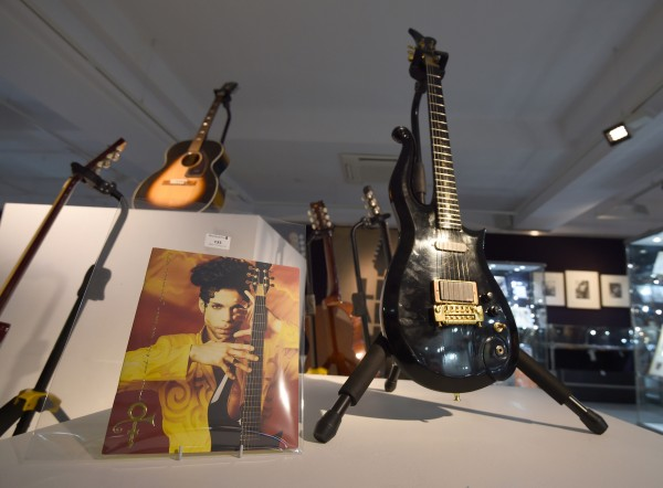 Some Hendrix memorabilia that went on sale in London last year.