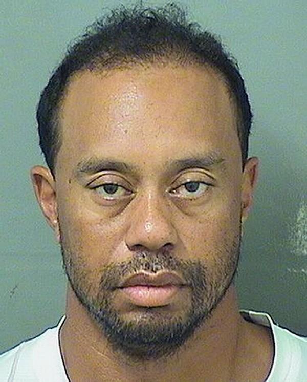 Tiger Woods DUI arrest