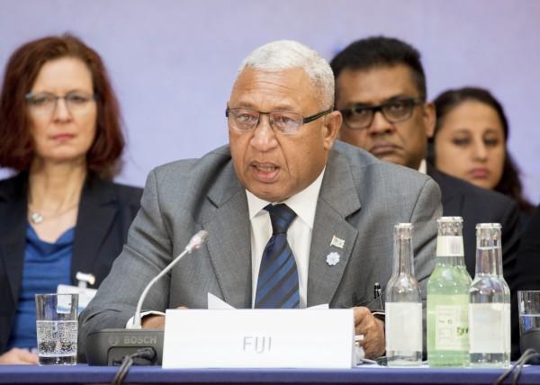 Josaia Voreqe Bainimarama.