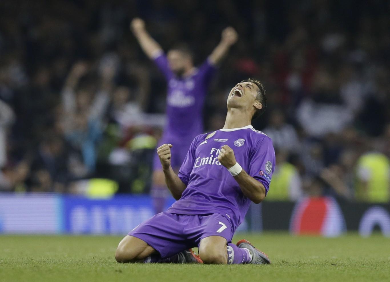 Cristiano Ronaldo (Tim Ireland/AP/PA)