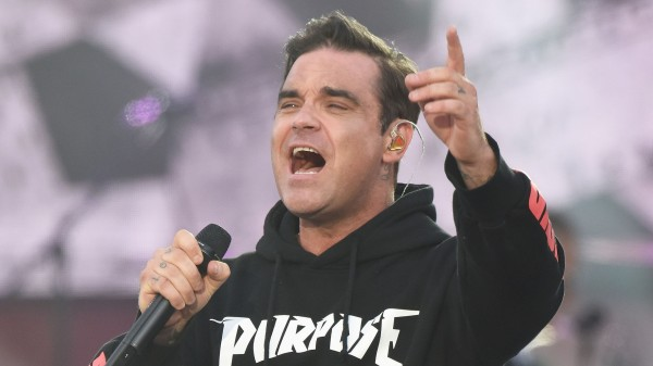 Robbie Williams (Dave Hogan for One Love Manchest/Press Association Images)