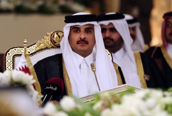 Qatar's Emir Sheikh Tamim bin Hamad Al-Thani (Osama Faisal/AP)