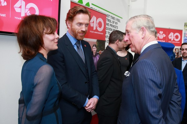 Helen and Damian meet the Prince of Wales.