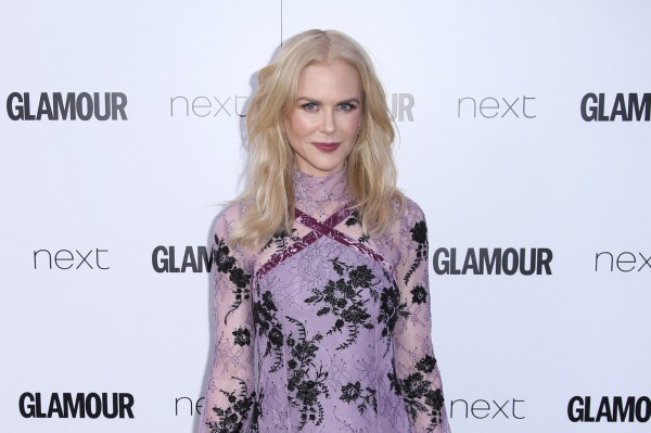Nicole Kidman shows 'solidarity' for London at Glamour awards