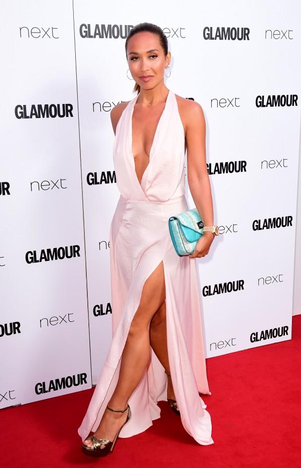 Orange Blossom Caroline Flack Wows At Glamour Women Of