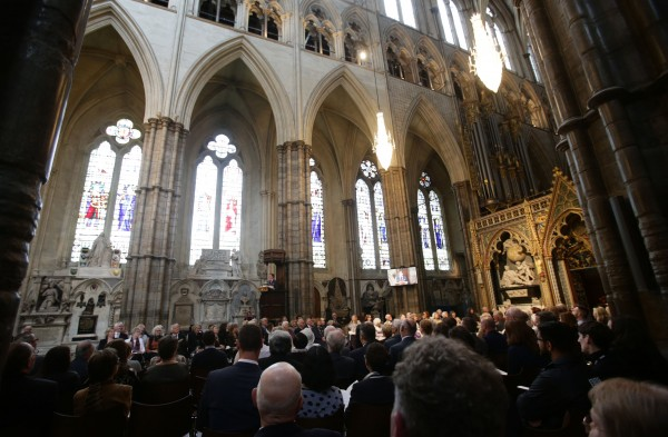 The Service of Thanksgiving for the Life and Work of the Ronnie Corbett at Westminster Abbey